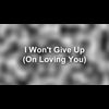 Video - I WON'T GIVE UP (ON LOVING YOU)